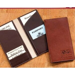 Business Leather Travel Wallet